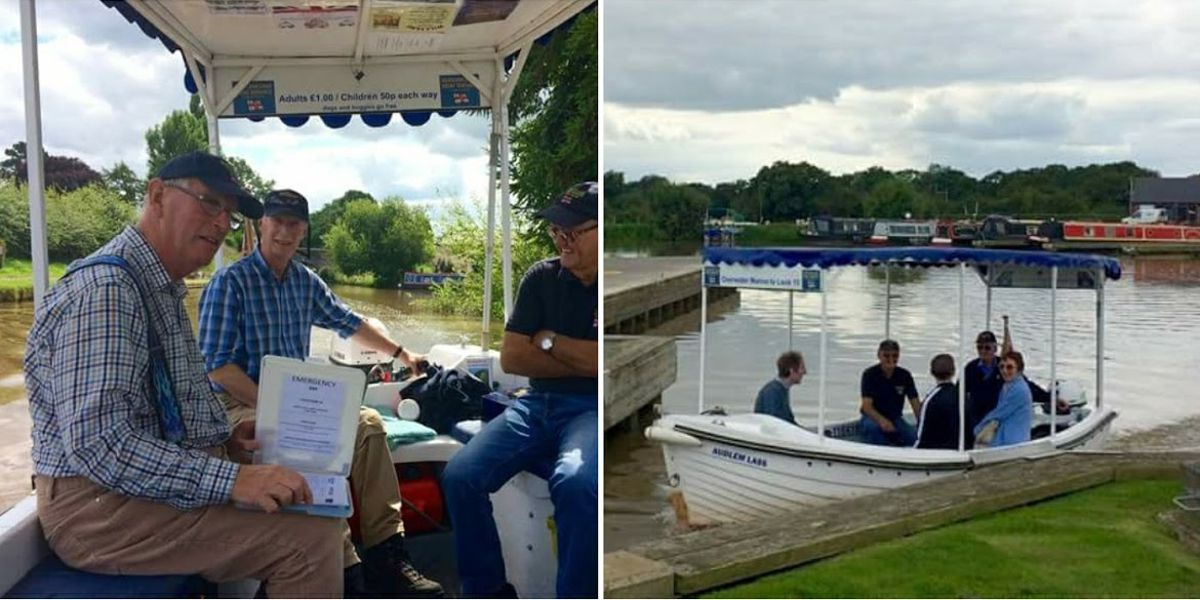 A busy start to August for the Audlem Lass Crew