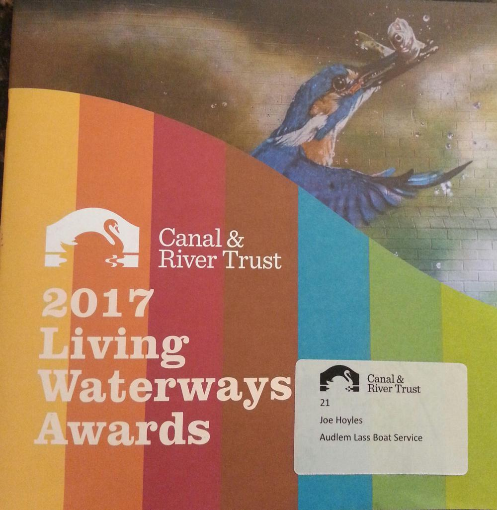 Canal & River Trust Living Waterways Awards