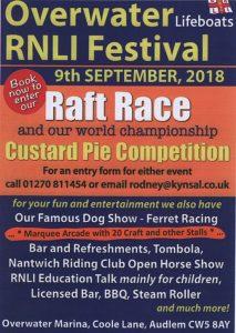 RNLI 2018 Festival Poster